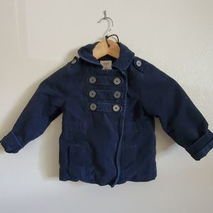 Old Navy toddler pea coat